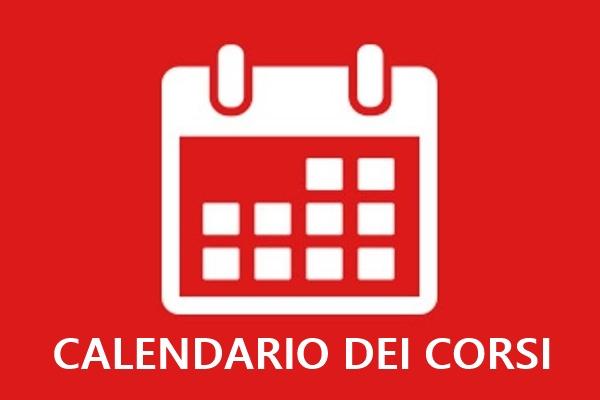 Calendario dei Corsi Formativi 2020